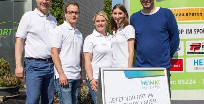 Heimat Krankenkasse eröffnet Servicestelle in Enger