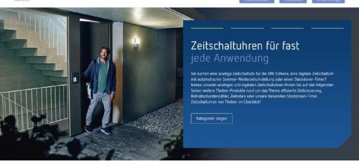 Konzept, Design und Website Relaunch für die Theben AG