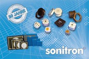 Seit 30 Jahren Piezo-Signalgeber von Sonitron bei M+R Multitronik