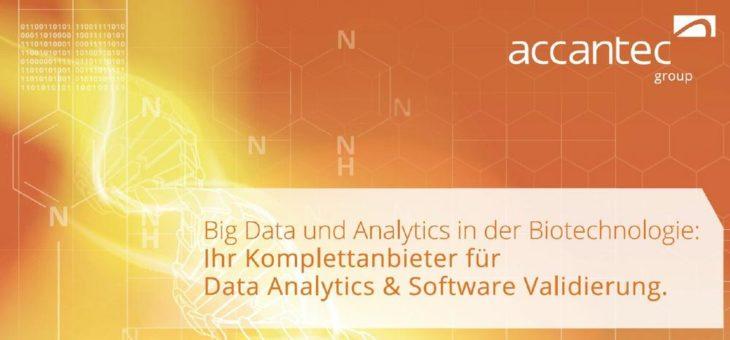Big Data und Analytics in der Biotechnologie