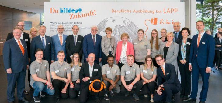 Bundespräsident Steinmeier bei Lapp