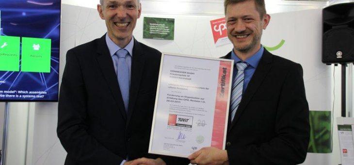 Offenheit bestätigt: CONWEAVER erhält CPO Zertifizierung