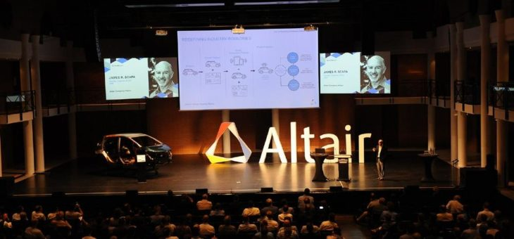 Die internationale Altair Technology Conference 2018 findet in Paris statt
