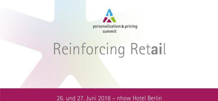 personalization & pricing summit 2018: Erfolgreich handeln durch künstliche Intelligenz