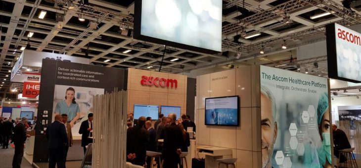 "Großer Andrang die ""Ascom Healthcare Platform"" kennenzulernen"