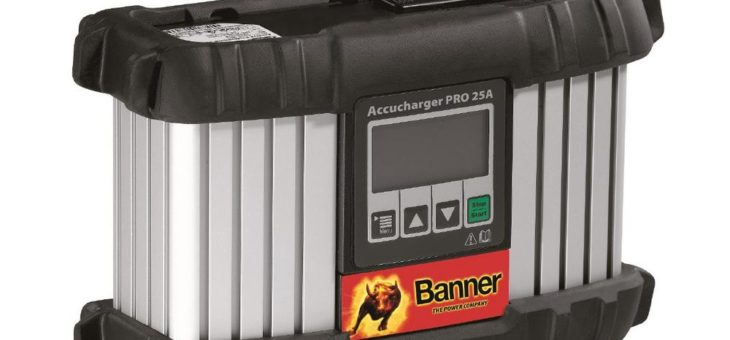 Volle Power mit neuem Banner Accucharger Pro 25A
