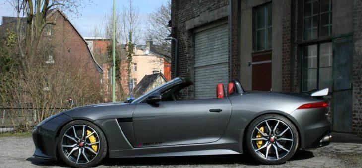 Fahrdynamisches Plus: VOGTLAND Sportfedern für den Jaguar F-Type