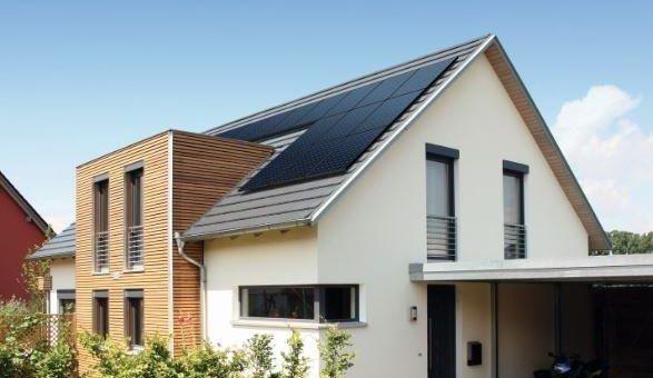 Hausdach nutzen für 100% Solar-Strom