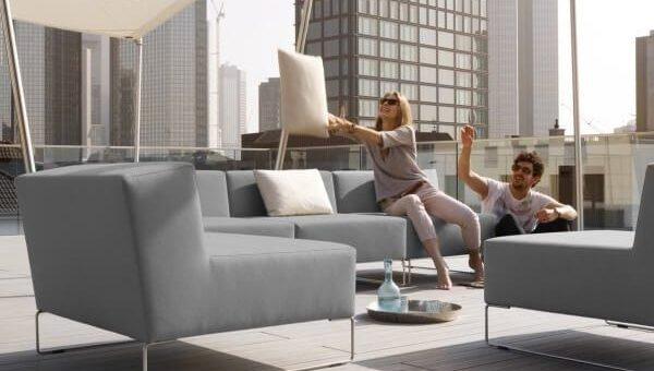 Echtes Lounge-Feeling auf der Terrasse