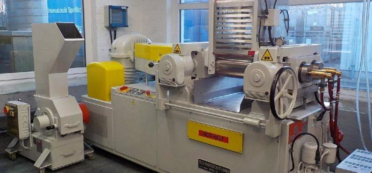 ROWALID Pigmentpräparationen – Startschuss für das neue Technikumswalzwerk