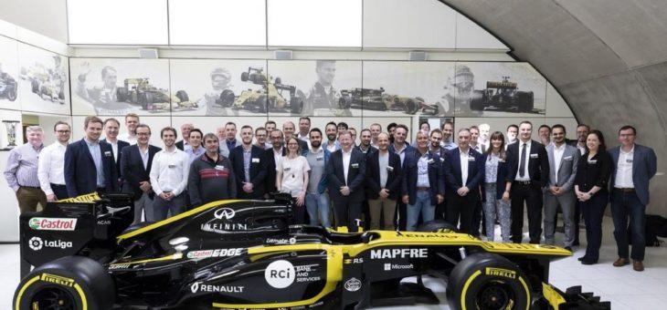 Kundentag bei Renault Sport Formula OneTM Team Technical Center in Enstone