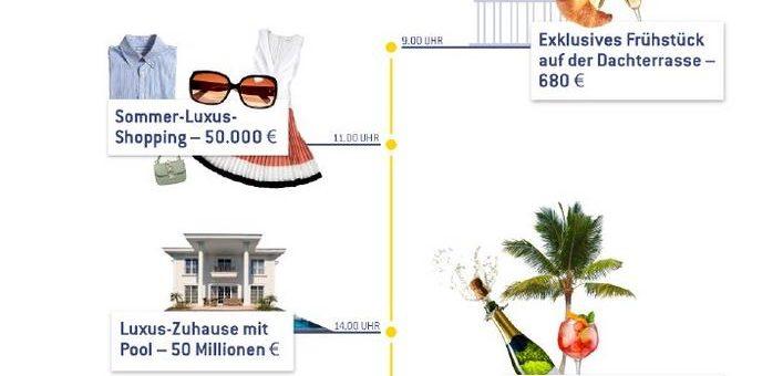7 Richtige, 90 Millionen Euro und 30 Grad