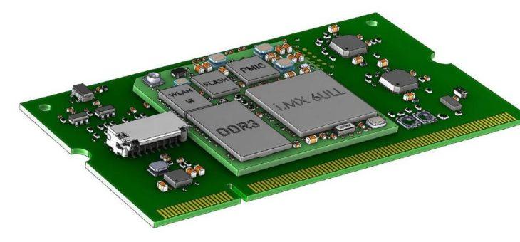Stromsparendes Embedded System mit i.MX6UL(L)