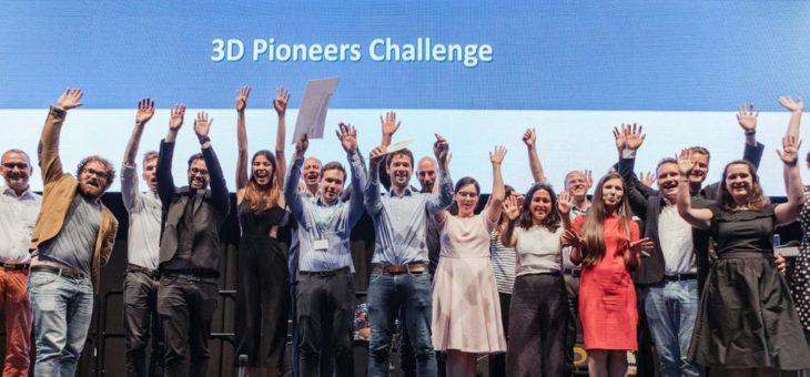 """Dritte Ausgabe der """"3D Pioneers Challenge"""" geht erfolgreich zu Ende"""