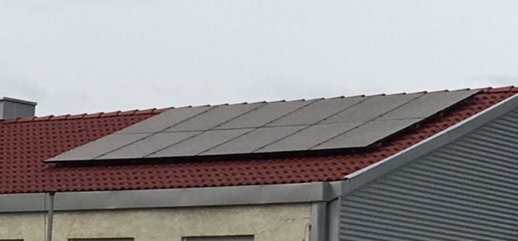 Die Panasonic Solaranlage für Deutschland