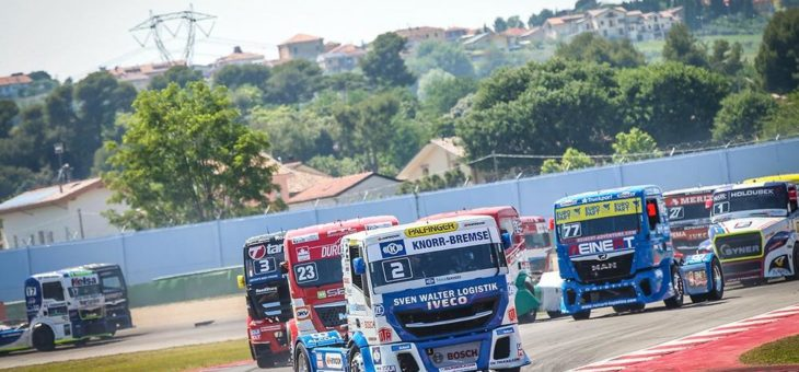 Knorr-Bremse TruckServices beim FIA European Truck Race auf dem Nürburgring