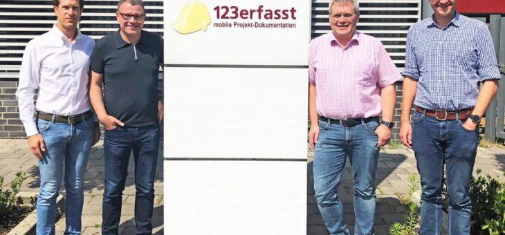 Zukunftsweisende Übernahme: NEVARIS erwirbt Marktführer im mobilen Baustellenmanagement 123erfasst.de