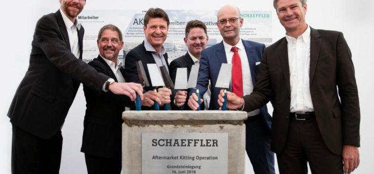 Neues Montage- und Verpackungszentrum von Schaeffler für den Automotive Aftermarket: Start der Bauphase