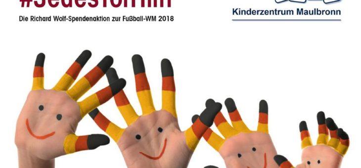 Richard Wolf GmbH – Spendenaktion zur Fußball-WM 2018