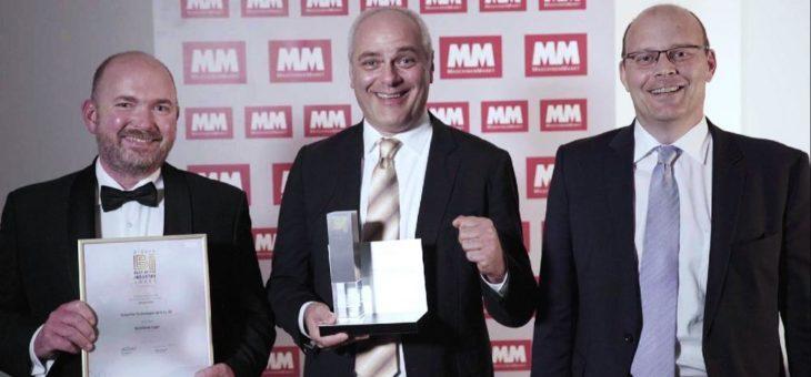 "Schaeffler VarioSense-Lager gewinnt ""Best of Industry""-Award"
