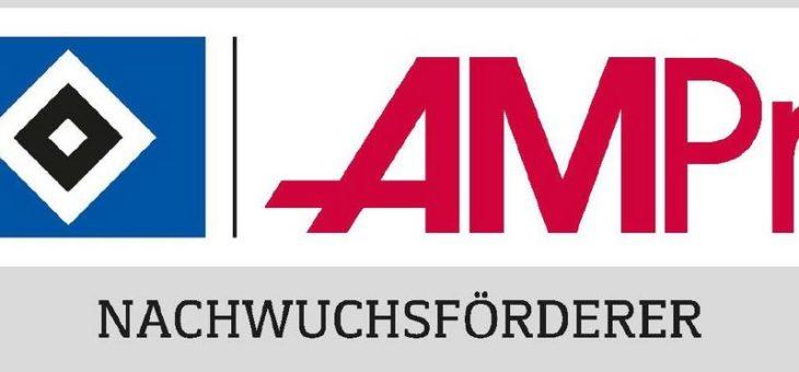 AMPri startet mit Beginn der neuen Saison als offizieller HSV-Nachwuchsförderer