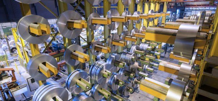 Hightech- Werkstoff von thyssenkrupp schafft Energieeffizienz: Elektroband des Stahlherstellers trägt zu erfolgreicher Energiewende bei