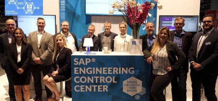 """Die SAP PLM Alliance auf der SAPPHIRE NOW® zeigte """"SAP® Engineering Control Center: Where the Digital Twin Begins!"""""""