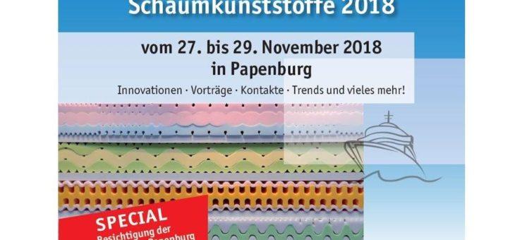 FSK lädt zur Internationalen Fachtagung Schaumkunststoffe 2018 ein