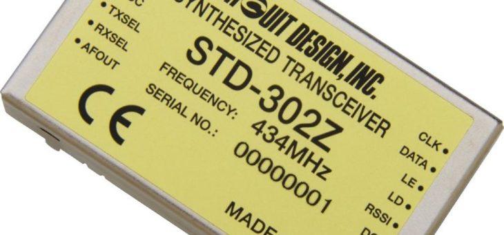 UHF FM Schmalband-Transceivermodul STD-302Z (434 MHz)