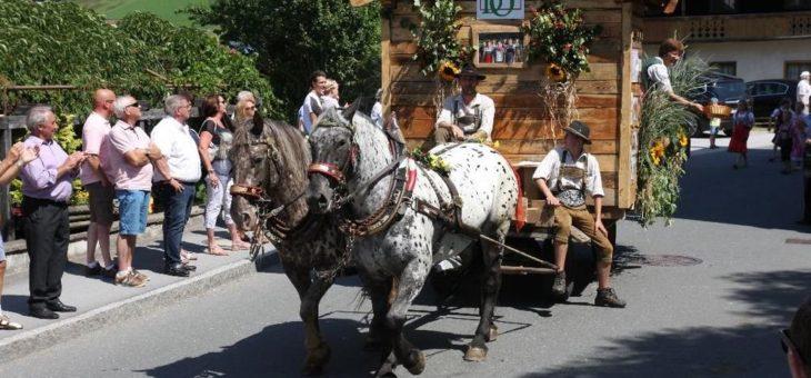 """""""Tal der Besonderheiten"""" heißt das Motto beim 63. Wildschönauer Talfest vom 11. – 14. August 2018"""