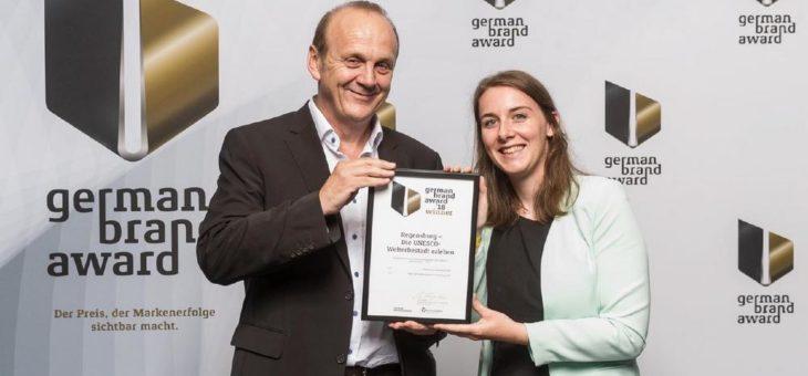 German Brand Award geht nach Regensburg