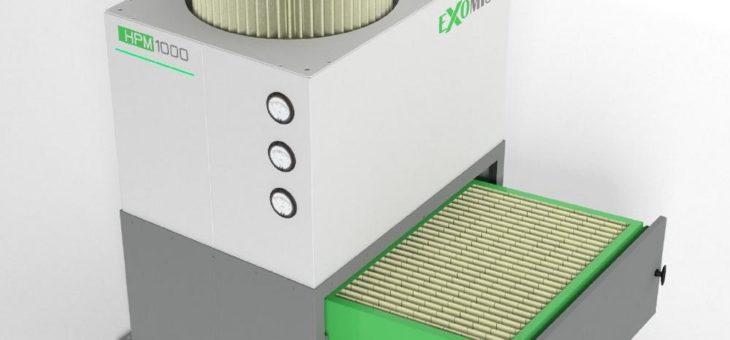 Neue Luftfilteranlagen für Werkzeugmaschinen