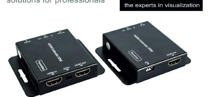 Die itworx-pro GmbH in Hamburg erweitert ihre digitale Extender Linie mit einem HDMI/IR Video Extender-Set over Cat6 with PoC von LionDATA