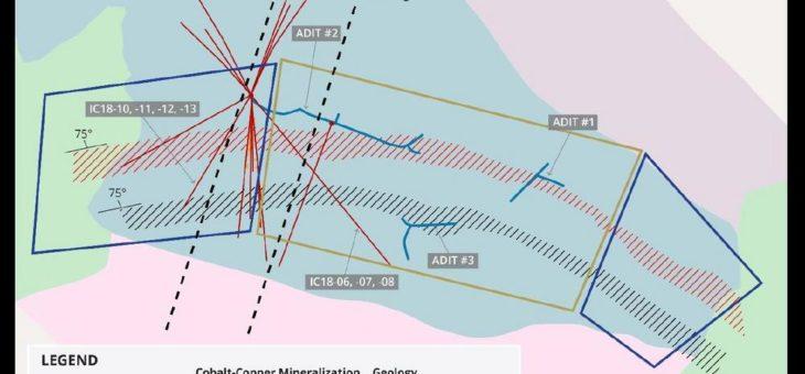 Bohrungen der First Cobalt auf Iron Creek erweitern Vererzung der Zone Waite
