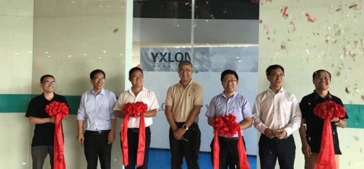 YXLON China bezieht neue Büroräume in Shanghai