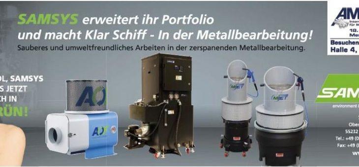 Die Samsys GmbH erweitert ihr Portfolio und macht Klar Schiff!