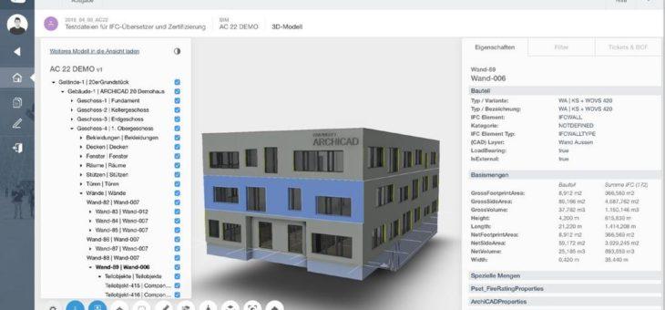 Graphisoft und NOVA Building IT starten gemeinsames Open Bim Projekt