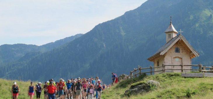 Auf die Länge kommt es an: Wander-Weltmeisterschaft in der Wildschönau