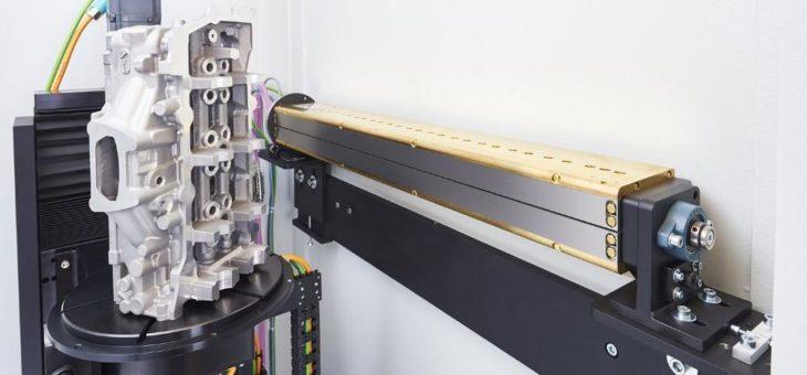 Computertomografiesystem YXLON CT Compact mit neu entwickeltem Zeilendetektor ausgerüstet
