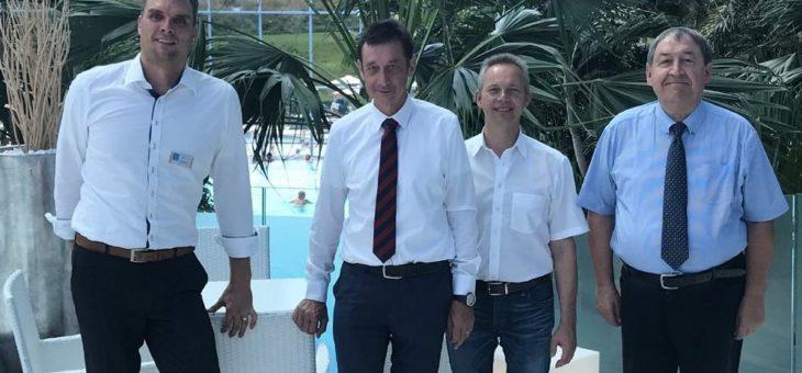 """FDP-Bundestagsabgeordneter Dr. Christoph Hoffmann zu Gast im """"Paradies"""""""