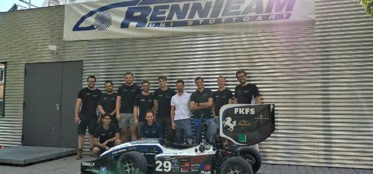 SALT AND PEPPER unterstützt Teams der Formula Student Germany