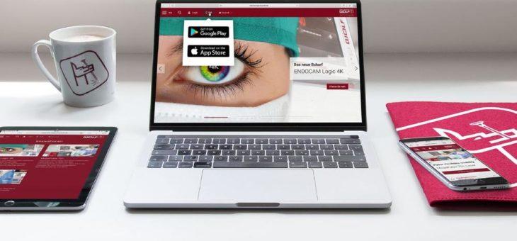 """Die neue Richard Wolf-Website und die Richard Wolf-App """"Home"""" sind online"""