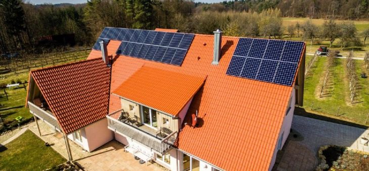 Solarstromanlage installieren ohne Hausanschluss