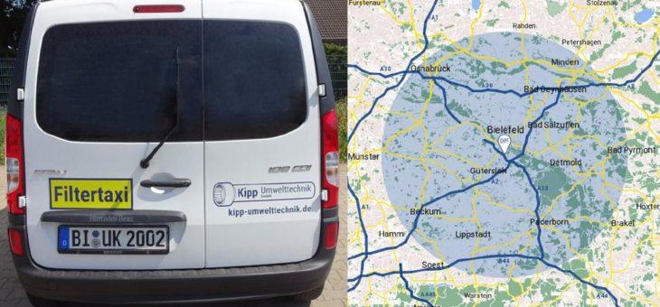 FilterMaster DPF, eine Abteilung der Kipp Umwelttechnik GmbH, erweitert Serviceangebot im Bereich der Reinigung von Großfiltern