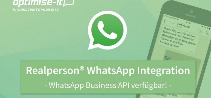 WhatsApp Business Lösung veröffentlicht