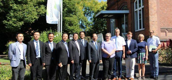Hochschule Geisenheim und das Auswärtige Amt der Region Ningxia, China, unterzeichnen Absichtserklärung