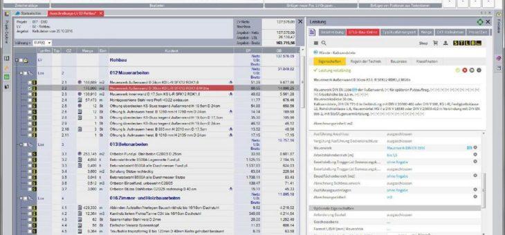 AVA Software Hersteller COSOBA verbindet STLB-Bau Online mit AVA.relax