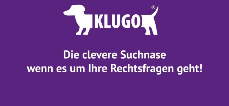 KLUGO, das Online-Portal für Rechtssuchende, feiert einjähriges Jubiläum!