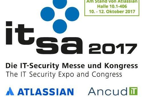 Ancud IT-Beratung GmbH gemeinsam mit Atlassian auf der it-sa 2017