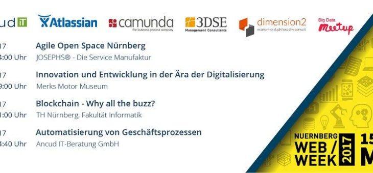 Ancud IT als Goldsponsor auf der Nürnberg Web Week 2017!